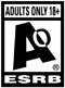 Content suitable only for adults ages 18 and up. May include prolonged scenes  of intense violence, graphic sexual content and/or gambling with real  currency.